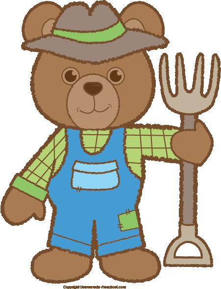 451x590 Teddy Bear Clipart