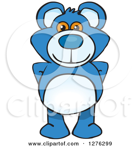 450x470 Teddy Bear Standing Clipart