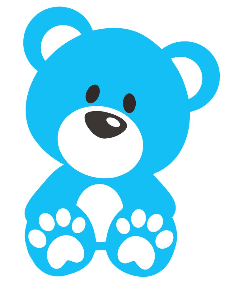 736x918 Teddy Bear Clipart Dark Blue