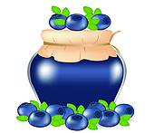 170x147 Blueberry Clip Art