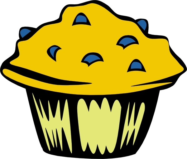 600x510 Blueberry Muffin Clip Art Free Vector In Open Office Drawing Svg