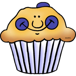 300x300 Blueberry Muffin Clipart Small