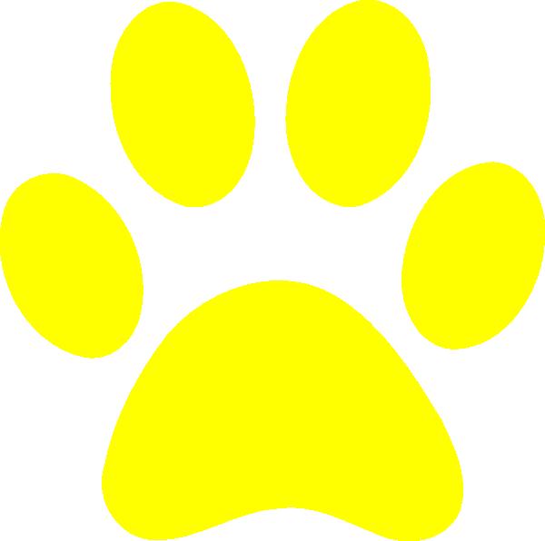 600x596 Blues Clues Yellow Paw Clip Art
