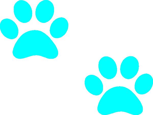 600x452 Puppy Paw Print Clip Art