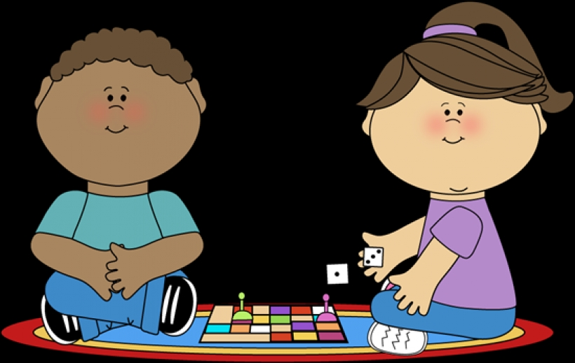 820x518 Kids Playing A Board Game Clip Art Kids Playing A Board Game Play