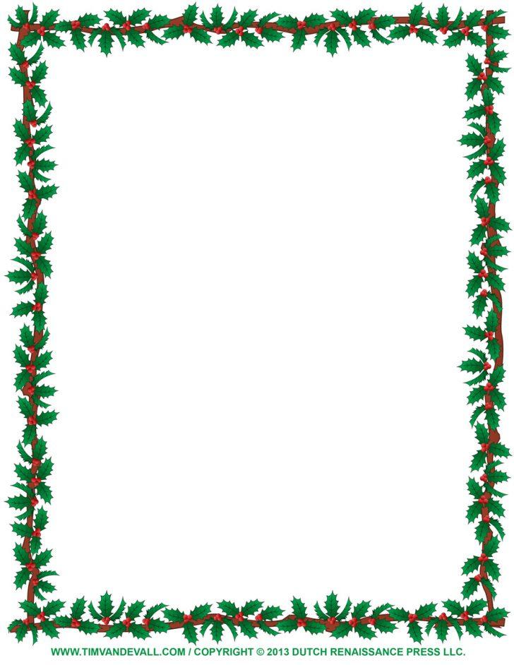 728x942 Christmas ~ Christmas Border Clipart Borders Awesome