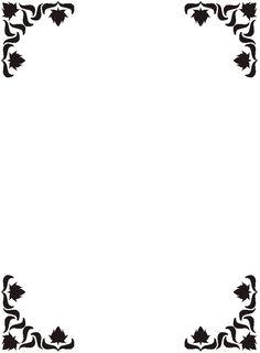 236x320 Fanciful Clip Art Borders School Supplies Border Clipart Panda