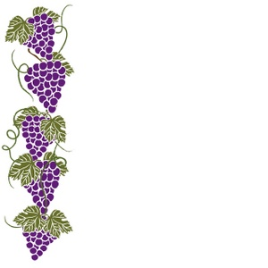 300x300 Grapes Clipart Image