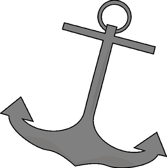 544x550 Boat Anchor Clip Art