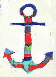 218x300 Boat Anchor Paintings Fine Art America
