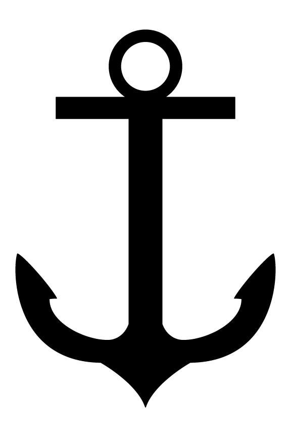 576x864 Clipart Boat Anchor Collection