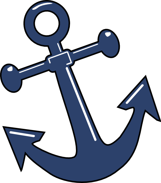 528x598 Anchor Clipart Boat