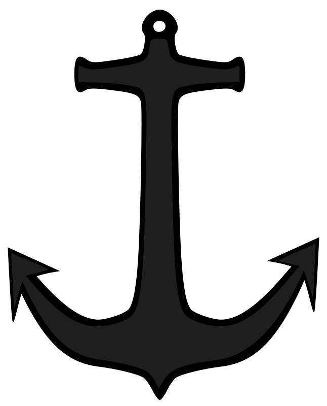 646x800 Boat Anchor Clip Art For Clipart Panda