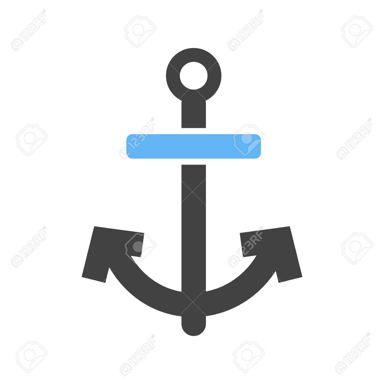 1300x1300 Anchor, Ship, Boat Icon Vector Image. Can Also Be Used For Summer