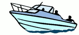 260x116 Free Clipart Boat