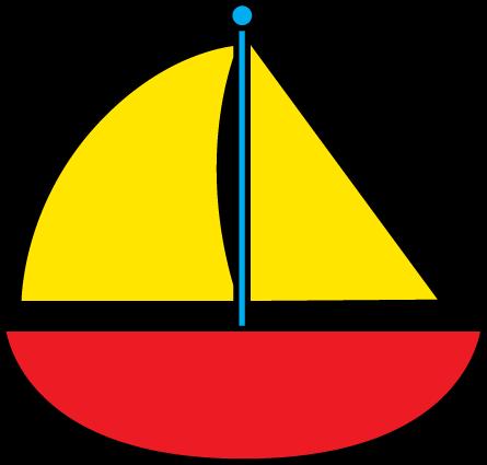445x425 Boat Clipart
