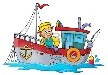 450x313 Fishing Boat Clipart Net Fishing