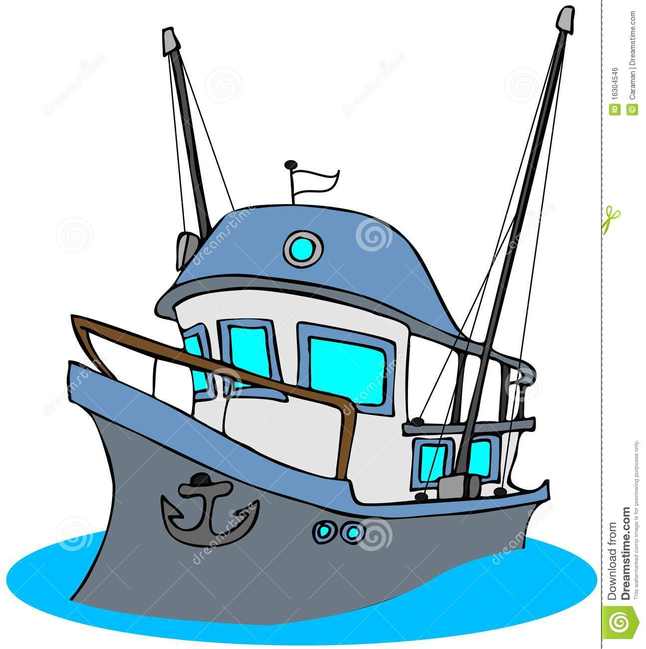 1295x1300 Fishing Clipart Commercial Fishing Boat