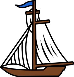 288x298 Animated Boat Clipart
