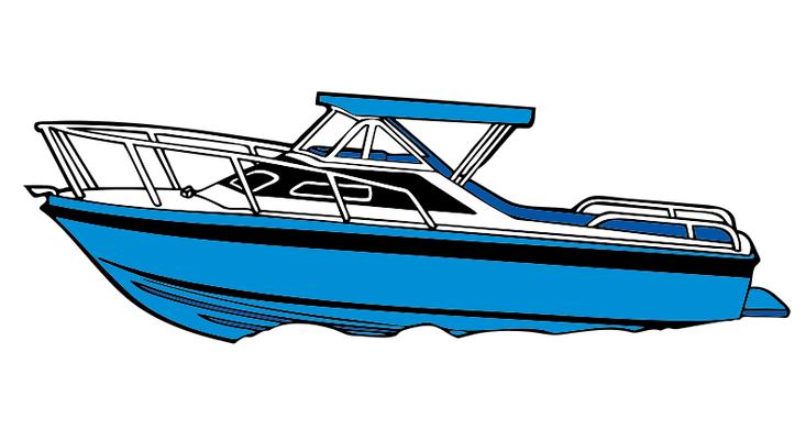 733x400 Motor Boat Clipart 101 Clip Art