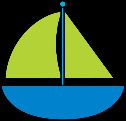 445x425 Sailboat Sail Boat Clip Art 2