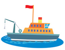 210x162 Sailing Boat Clipart Ferry Boat