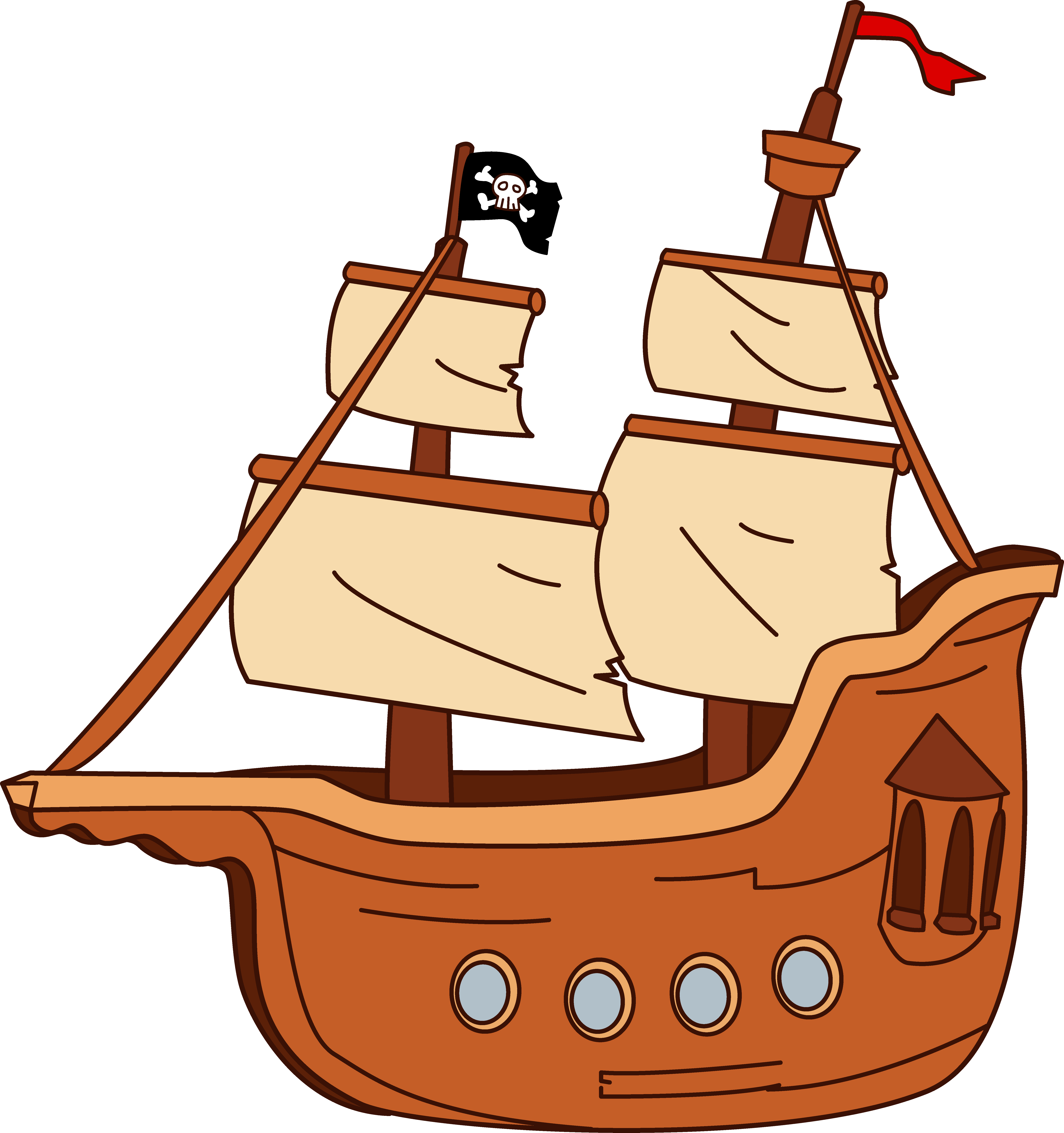 6205x6606 Ship Free Boat Clipart Pictures