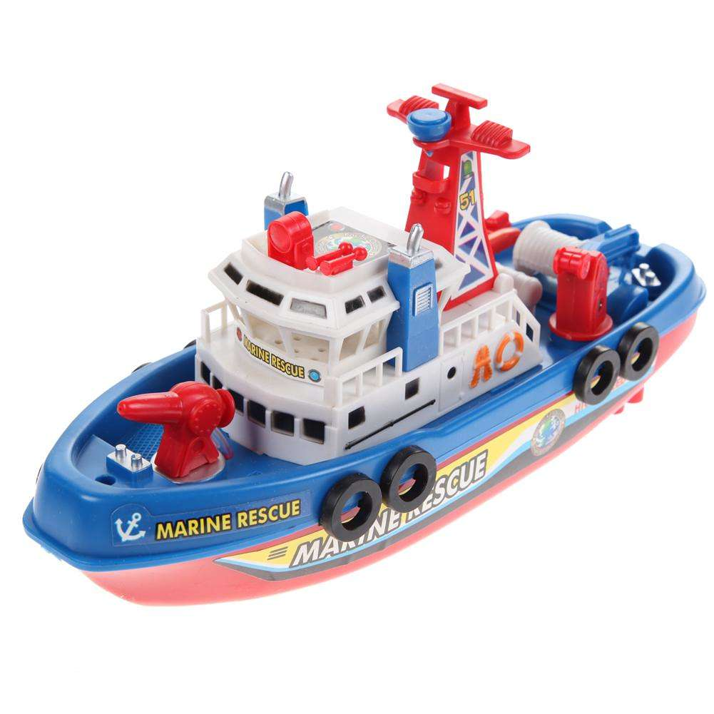 1001x1001 High Speed Children Marine Rescue Toy Boat Fire Boat Electric Boat