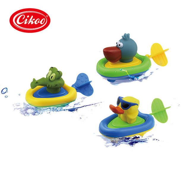 640x640 Pull And Go Boat Bath Toy Baby Back Guy Water Clockwork Baby Toy