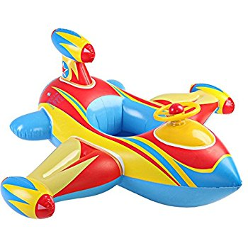 350x350 Baby Inflatable Airplane Kids Toddler Infant Swimming