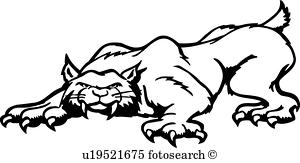 300x163 Bobcat Clip Art Royalty Free. 564 Bobcat Clipart Vector Eps