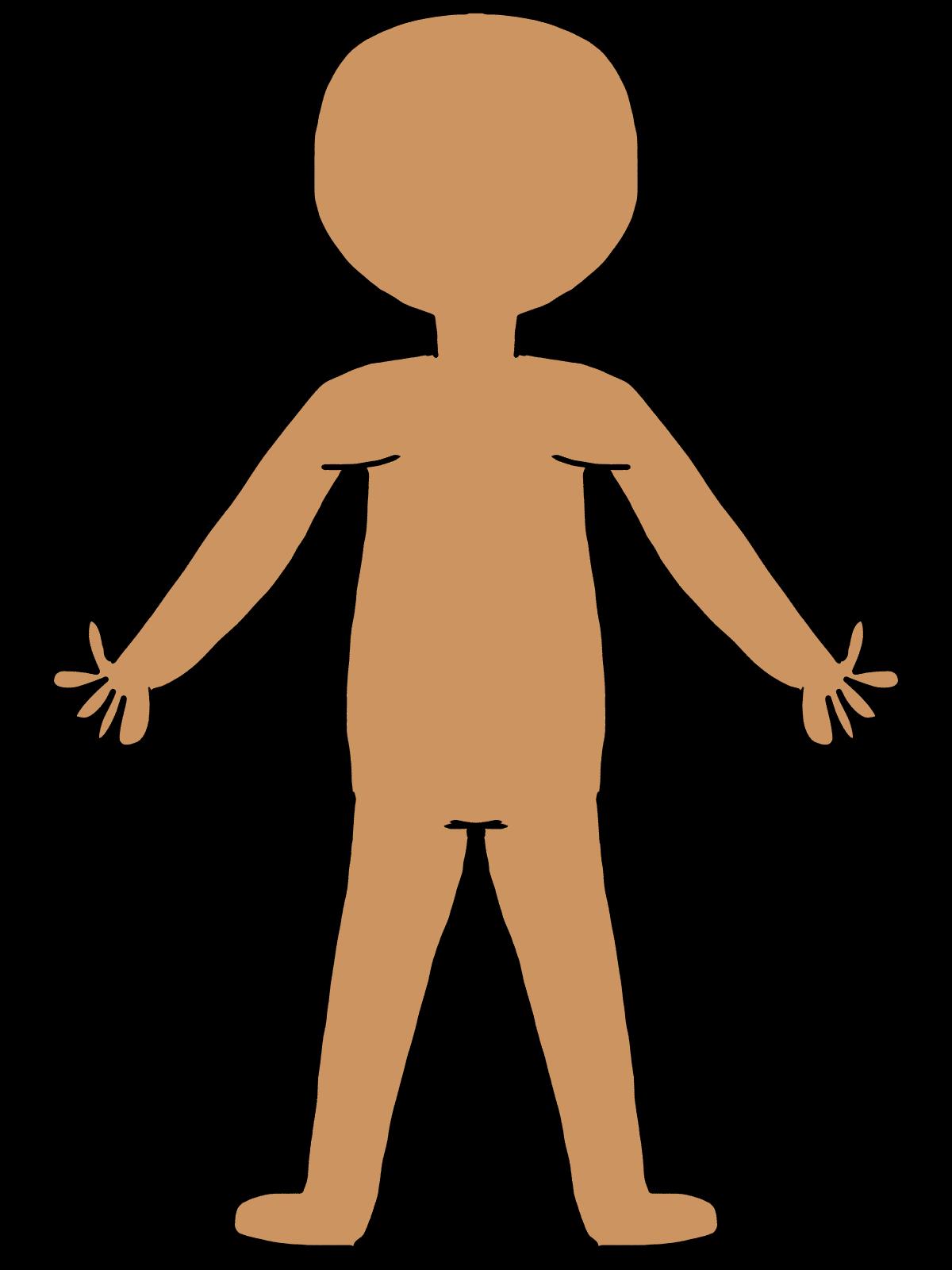 1200x1600 Human Body Parts Clipart