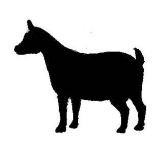 300x300 Goat Clipart Silhouette