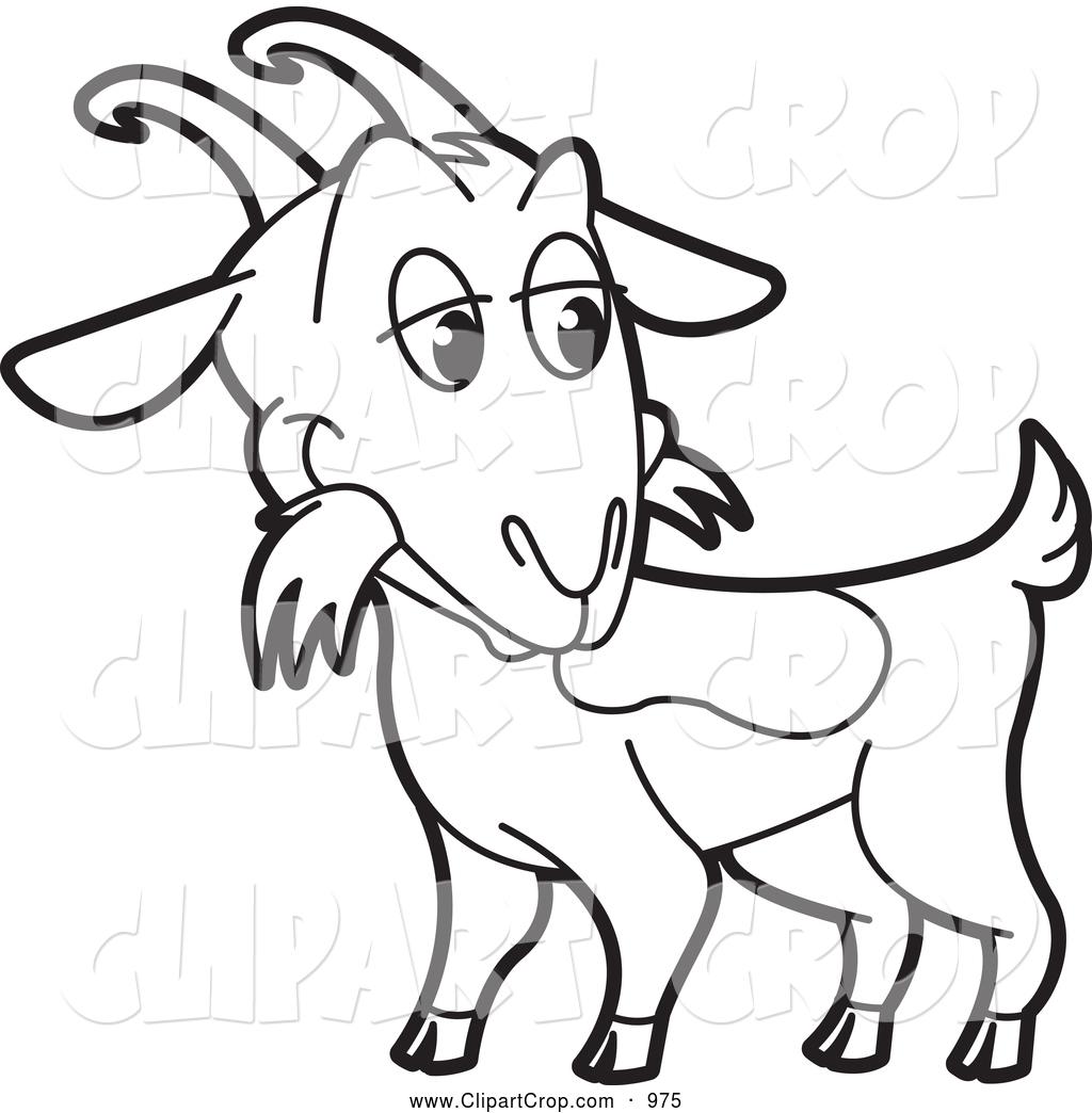 1024x1044 Nanny Goat Clip Art
