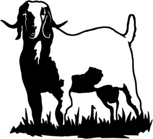300x272 Boer Goat Clip Art Do Not Have To Own Goats Or Have Any Previous