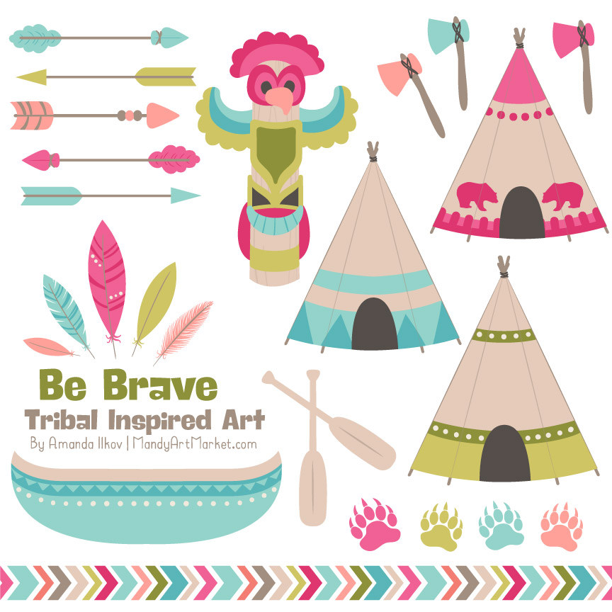 864x864 Tribal Clipart