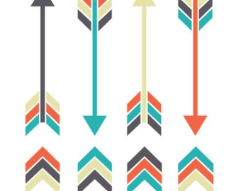340x270 Arrow Clipart Bohemian