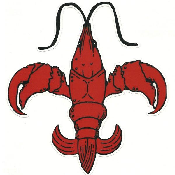600x600 Free Crawfish Clip Art