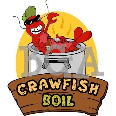 400x400 Cajun Crawfish Clip Art