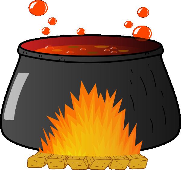 600x564 Boiling Cauldron Clip Art