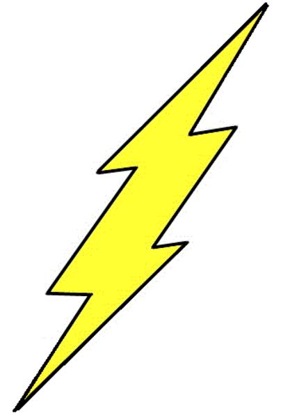 417x600 Flash Clipart Symbol Outline