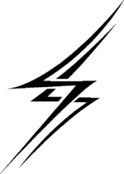 426x596 Lightning Bolt Clipart