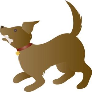 300x299 Dog Bone Doggy Bones The Tizona Group Clipart Image