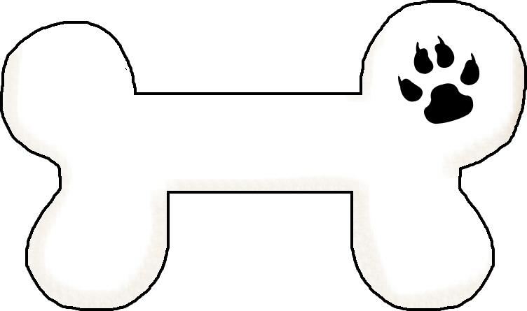 752x445 Bones Clipart Simple Dog