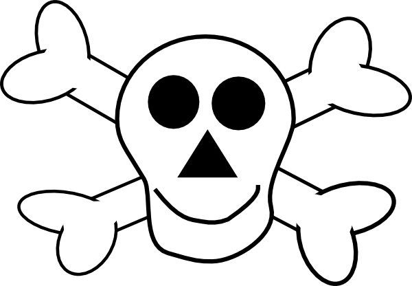 600x416 Pirate Skull Template. Pirate Skull Free Download Clip Art Free