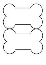 189x267 Dog Bone Cut Out Pattern Templates Dog Bones, Dog