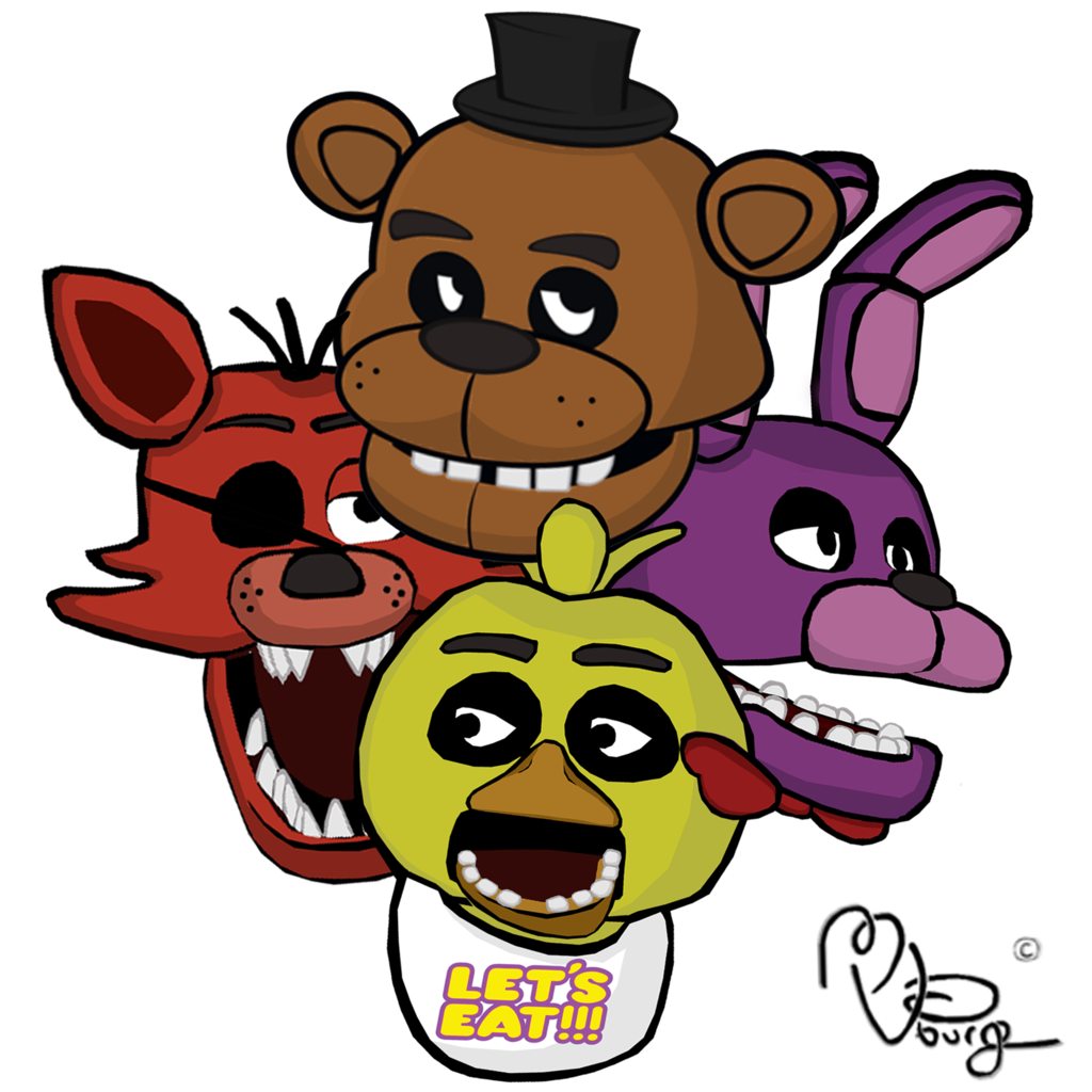1024x1024 Covered Clipart Fnaf