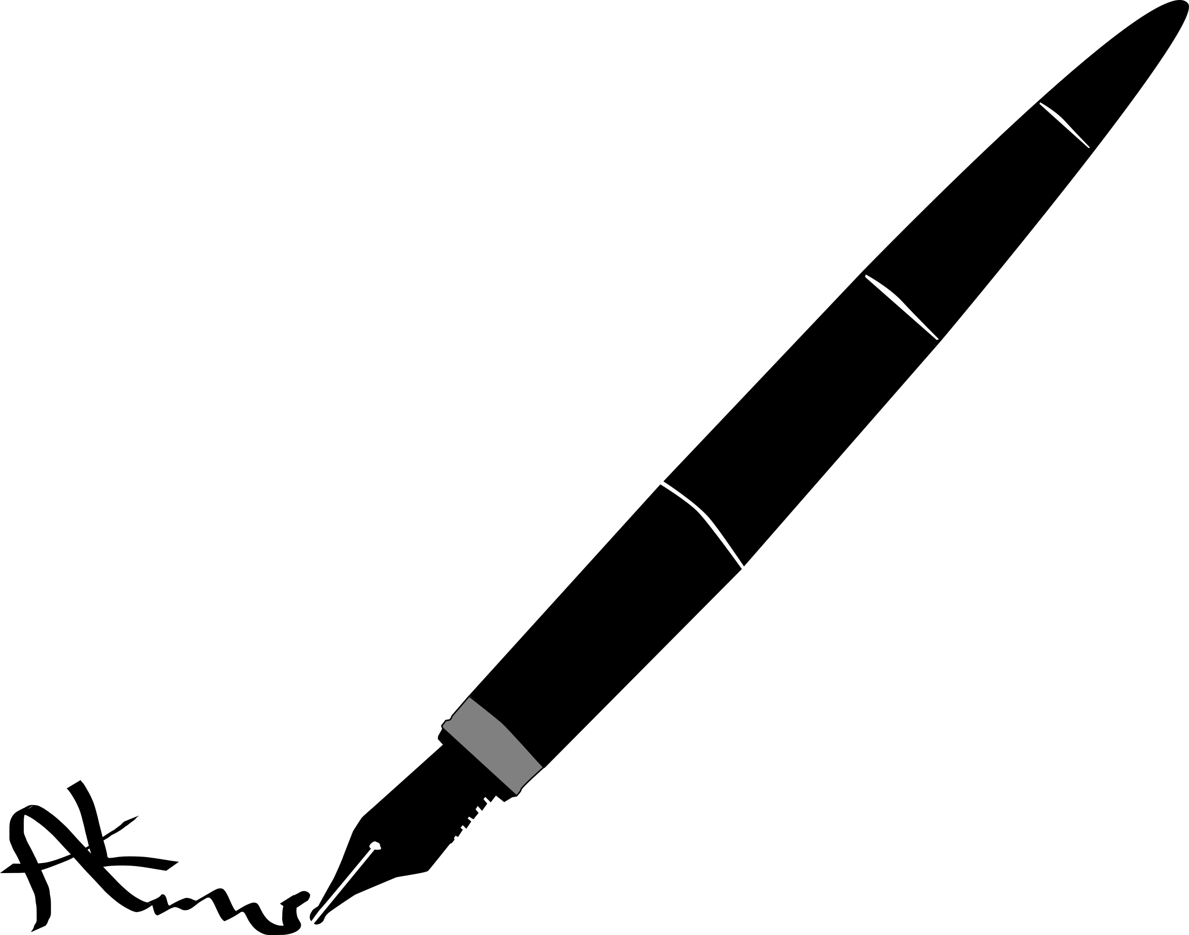 2400x1887 Clipart Pen