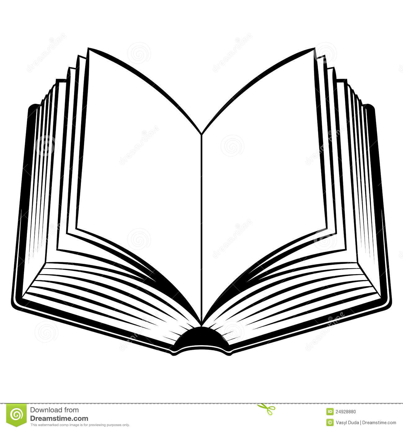 1300x1390 Open Books With Pen Clipart