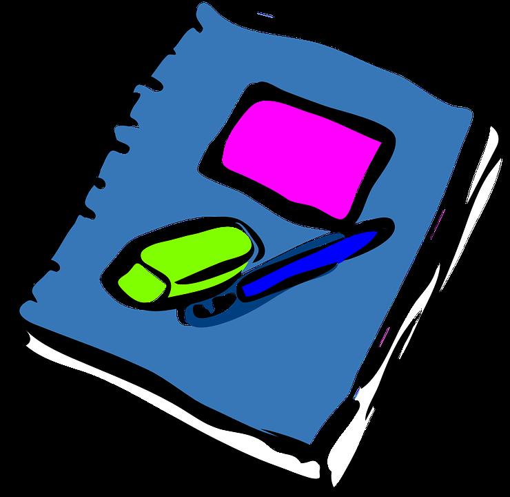 740x720 Pen Clipart Note Book